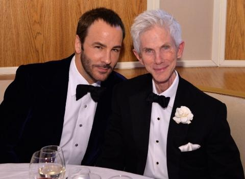 News video: Designer Tom Ford Announces He's Married