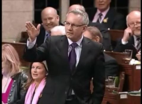 News video: Tory Minister Ed Fast Accused Of Making Gun Gesture In House Of Commons